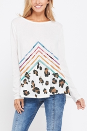 Lyn -Maree's Chevron & Leopard Long Sleeve - Product Mini Image