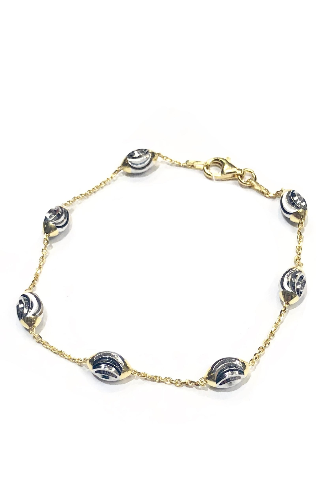 Officina Bernardi Chevron Moon Bracelet - Main Image