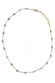 Officina Bernardi Chevron Moon Necklace - Product Mini Image