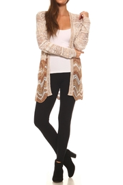 rxb Chevron Print Cardigan - Side cropped