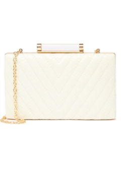 Sondra Roberts Chevron Quilted Box Clutch - Product List Image