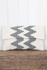 Lovestitch Chevron Stripe Clutch - Product Mini Image