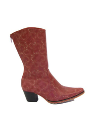 Artemis Collections Inc Cheyenne mid-calf laser cut leather - Product Mini Image