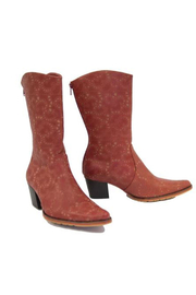 Artemis Collections Inc Cheyenne mid-calf laser cut leather - Front full body