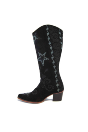Artemis Collections Inc Cheyenne Tall Embroidered Brushed Leather 2 - Side cropped