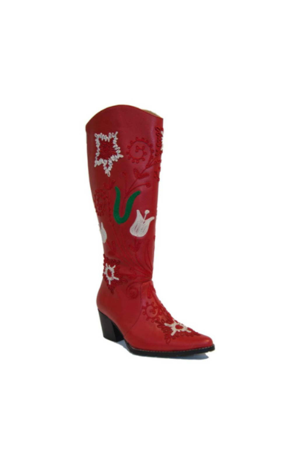 Artemis Collections Inc Cheyenne Tall Embroidered Leather 1 - Front Full Image