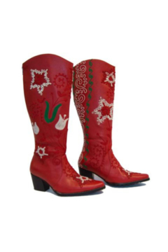 Artemis Collections Inc Cheyenne Tall Embroidered Leather 1 - Product List Image