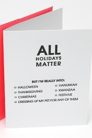 Chez Gagne All Holidays Matter - Product Mini Image