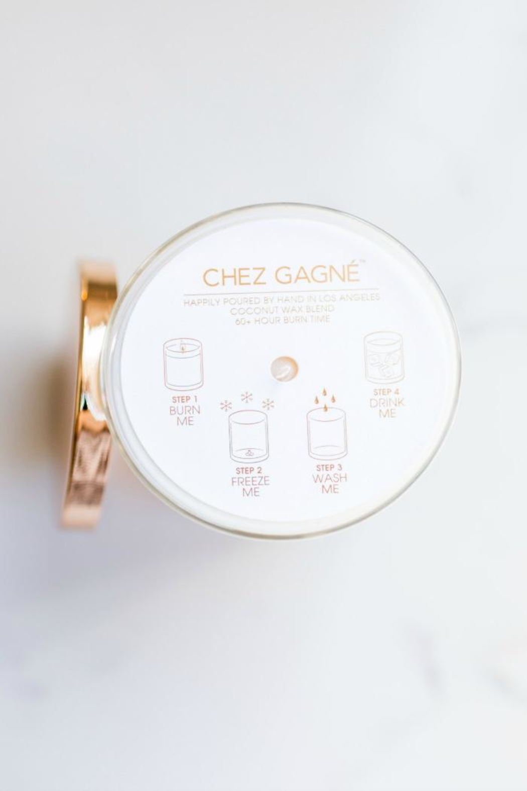 Chez Gagne Chill Out Candle - Side Cropped Image