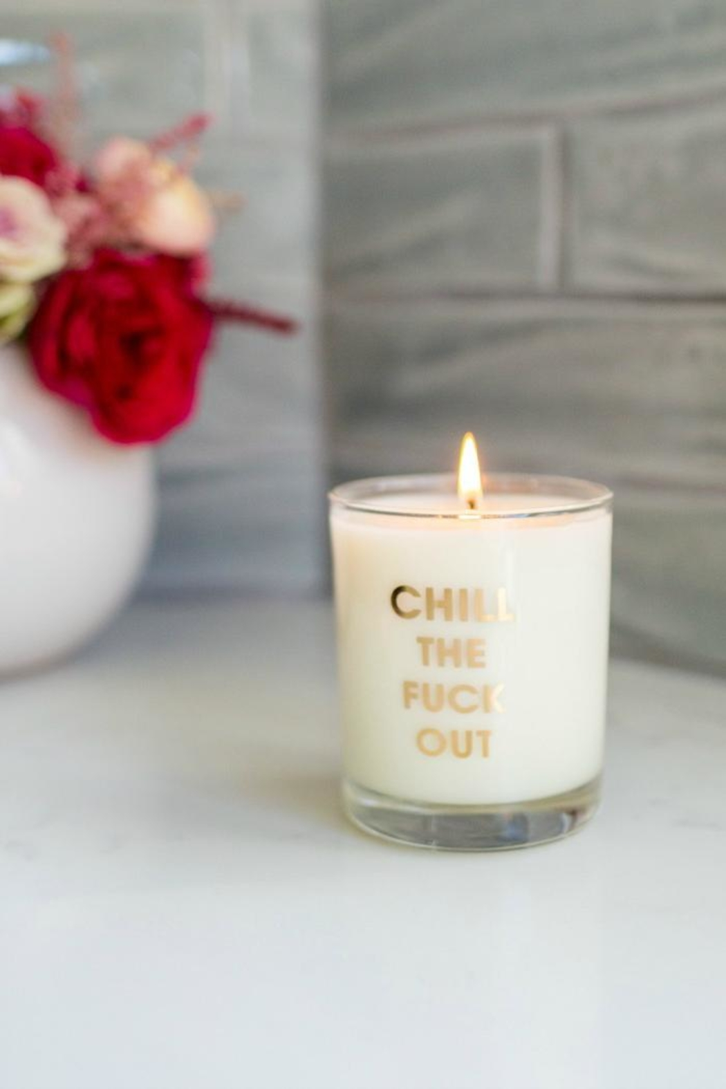 Chez Gagne Chill Out Candle - Main Image