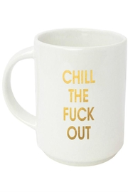 Chez Gagne Chill Out Mug - Front cropped
