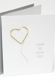 Chez Gagne Love You Card - Product Mini Image