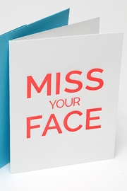 Chez Gagne Miss You Card - Product Mini Image