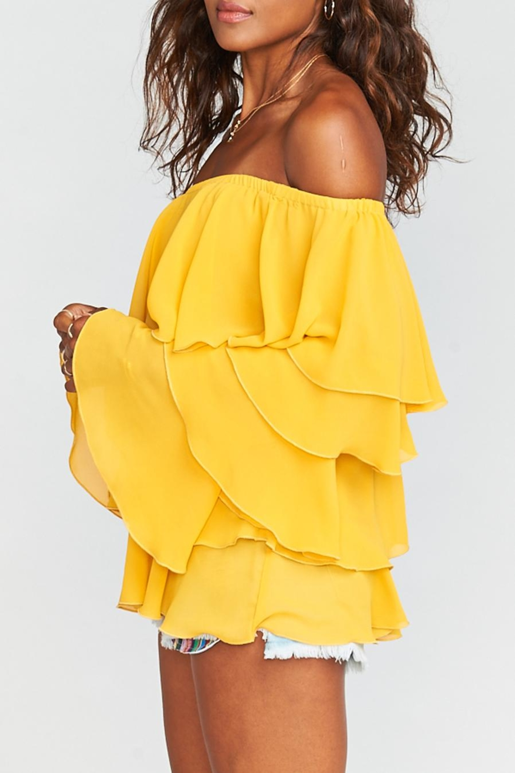 Show Me Your Mumu Chi Chi Top - Front Full Image