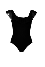 Karla Colletto Chiara Ruffle One-Piece - Product Mini Image