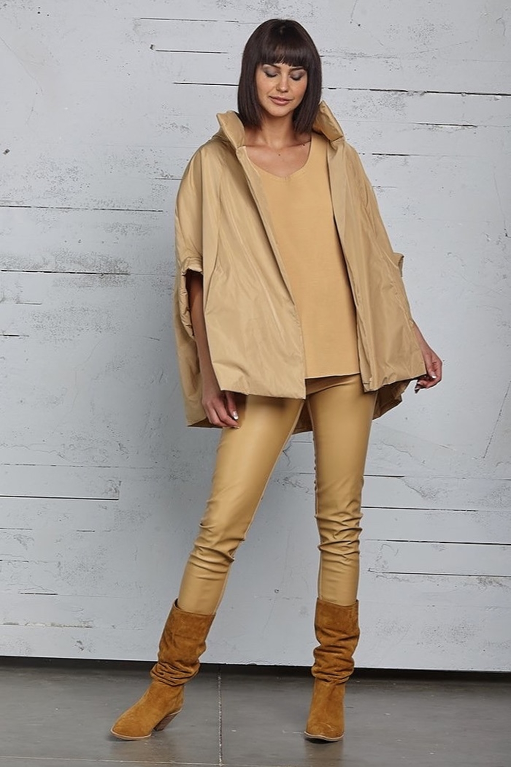 Planet Chic Cape - Front Cropped Image