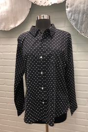 Dylan by True Grit Chic Dot Blouse - Product Mini Image
