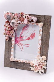 Chic and Shore Things Barnacle-Embossed Coastal Frame - Product Mini Image
