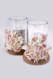 Chic and Shore Things Coastal Style Candle Holder - Product Mini Image