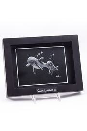 Chic and Shore Things Framed Dolphins Love - Product Mini Image