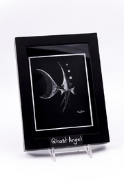 Chic and Shore Things Framed Ghost Angel Print - Product Mini Image