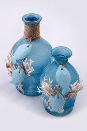 Chic and Shore Things Frosted Sea Life Bottles - Product Mini Image