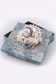 Chic and Shore Things Mosaic Embossed Box - Product Mini Image