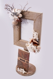 Chic and Shore Things Wood Frame With Accents - Product Mini Image