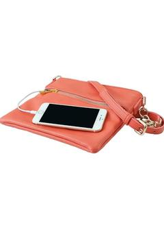 Chic Buds Coral Smartphone-Power Crossbody - Alternate List Image