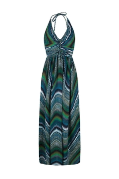 CHIC BY LIRETTE Halter Green Dress - Product List Image