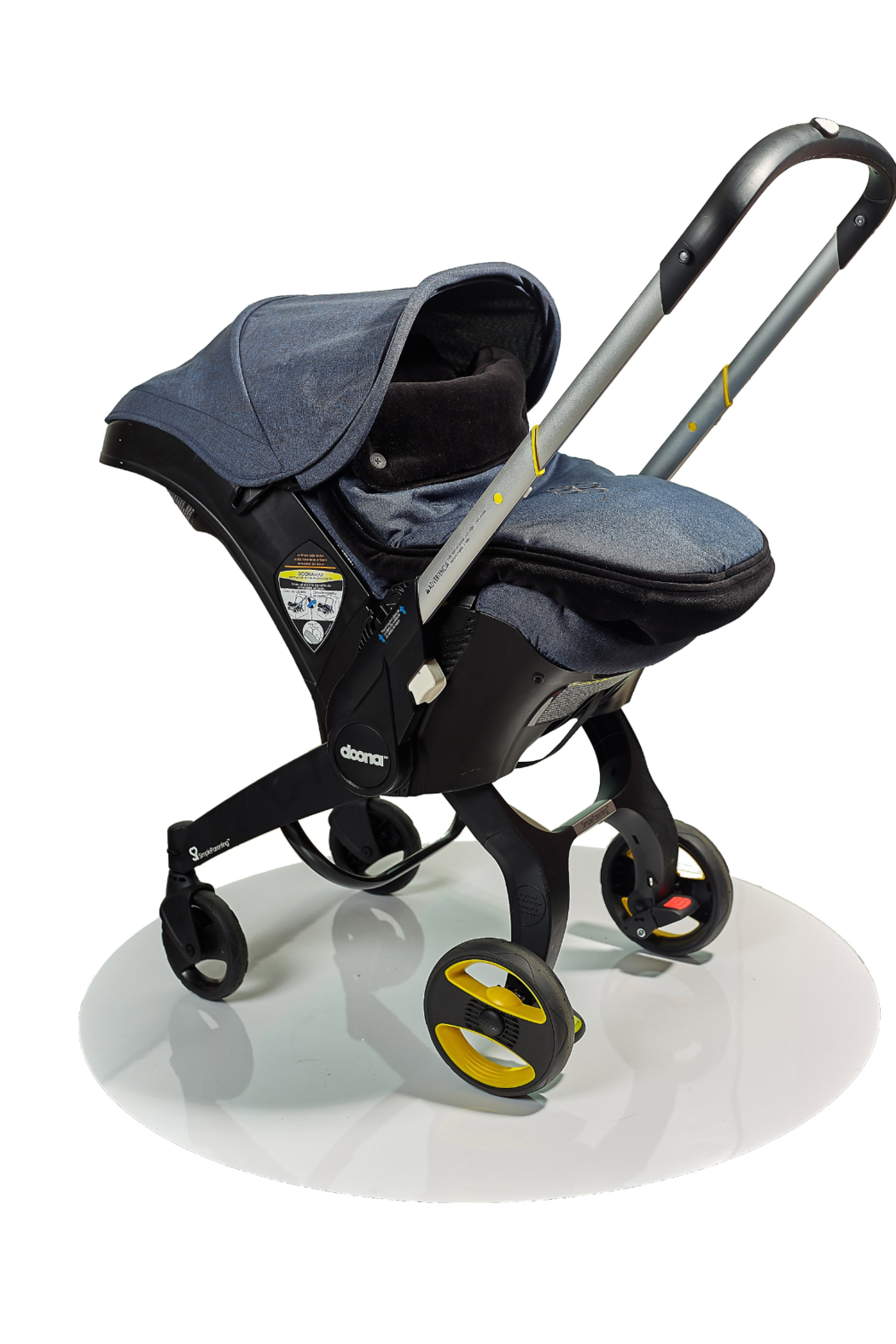 Chicali Reversible Stroller Footmuff - Side Cropped Image