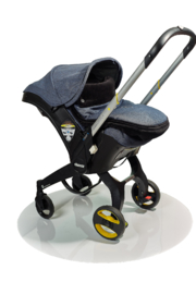 Chicali Reversible Stroller Footmuff - Side cropped
