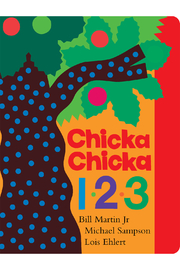 Simon and Schuster Chicka Chicka 1, 2, 3 - Front cropped