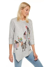 Inoah Chicken Asymmetrical Top - Product Mini Image