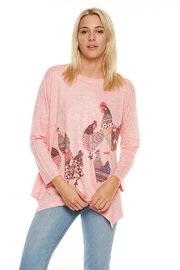 Inoah Chicken Sharkbite Sweater - Front cropped