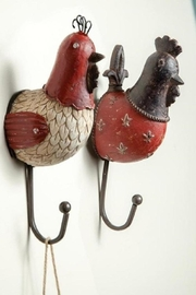 Manual Woodworkers and Weavers Chicken Wall-Hook Set - Product Mini Image