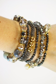 CHICKS MTY Hematite Bracelet Set - Product Mini Image