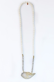 CHICKS MTY Long Agate Necklace - Front cropped