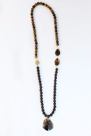 CHICKS MTY Long Agate Necklace - Product Mini Image