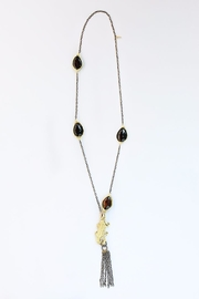 CHICKS MTY Long Crocodile Necklace - Product Mini Image