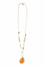 CHICKS MTY Long Druzy Necklace - Product Mini Image