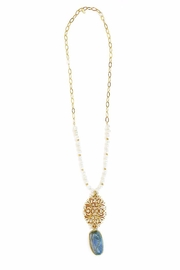 CHICKS MTY Long Pearl Necklace - Product Mini Image