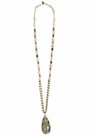 CHICKS MTY Long  Pyrite Necklace - Product Mini Image