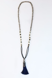 CHICKS MTY Long Tassel Necklace - Product Mini Image