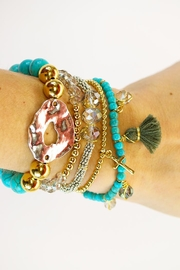 CHICKS MTY Turquoise Bracelet Set - Product Mini Image