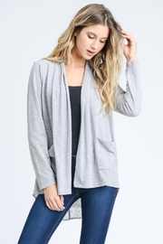 Elegance by Sarah Ruhs Chiffon Back Cardigan - Product Mini Image