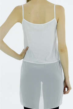 Melody Chiffon Bottom Slip Tunic - Alternate List Image