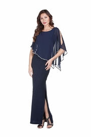 Frank Lyman Chiffon Drape Dress - Front cropped