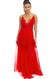 luxxel Chiffon Lace Gown - Product Mini Image