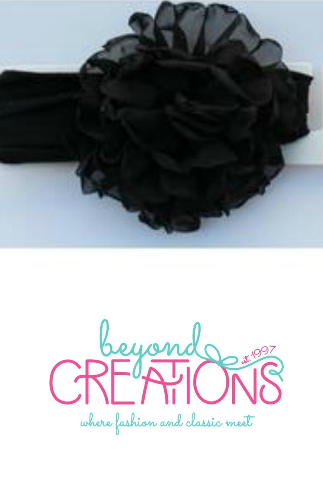 Beyond Creations Chiffon-Penny-Bloom-Floral-Headband - Front Cropped Image